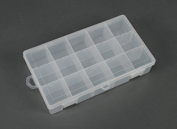 Plastic Multi-Purpose Organizer - Large 15 Compartment