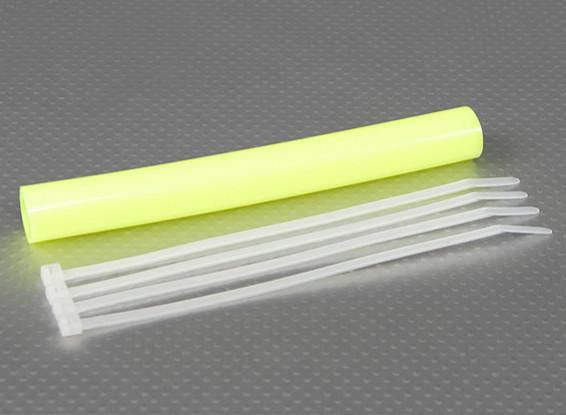 Silicone Exhaust Coupler Tubing 152x12mm (Yellow)