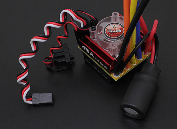 Turnigy TrackStar 1/10 45A Sensorless Car Esc