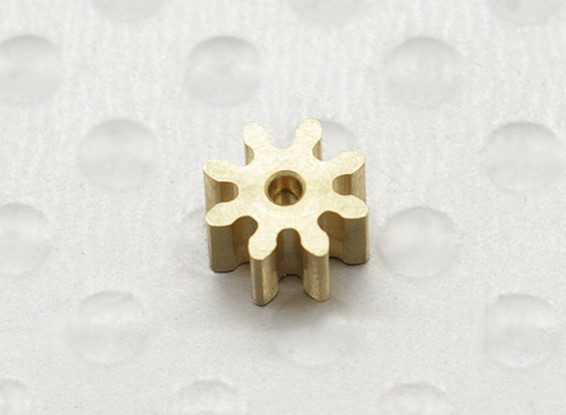 Micro Helicopter Pinion Gear 0.5M 8T