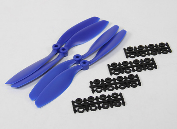 8045 SF Props 2pc CW 2 pc CCW Rotation (Blue)