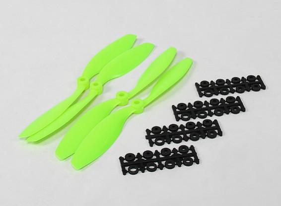 8045 SF Props 2pc CW 2 pc CCW Rotation (Green)