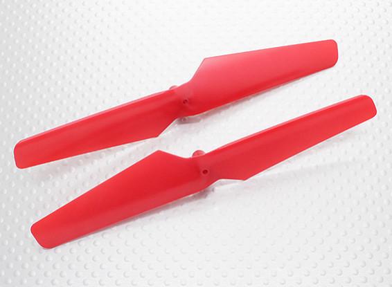 HobbyKing Q-BOT Quadcopter - Propeller (Red) (1pair)