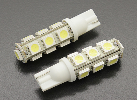 LED Corn Light 12V 2.6W (13 LED) - White (2pcs)