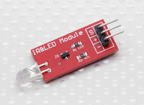 Kingduino Infrared Transmitter Module High-power IR Data Transmission Module
