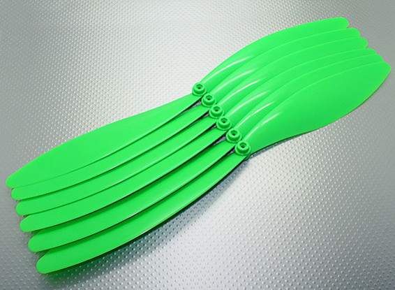 GWS EP Propeller 15x10 Green (6pcs/set)