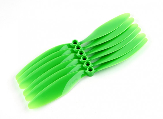 GWS EP  (RH-8043 203x109mm) Green (6pcs/set)