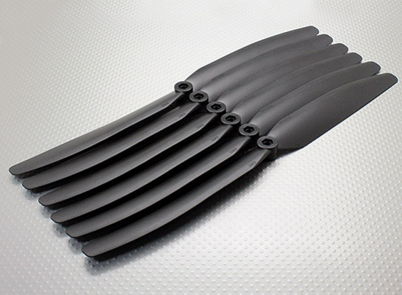 GWS EP Propeller (DD-1170 279X178mm) Black (6pcs/set)