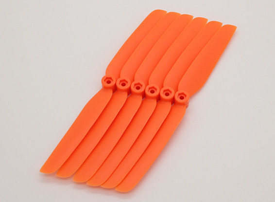 GWS EP Propeller (DD-6030 152x76mm) orange (6pcs/set)