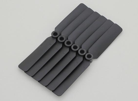 GWS EP Propeller (DD-4025 102x64mm) black (6pcs/set)