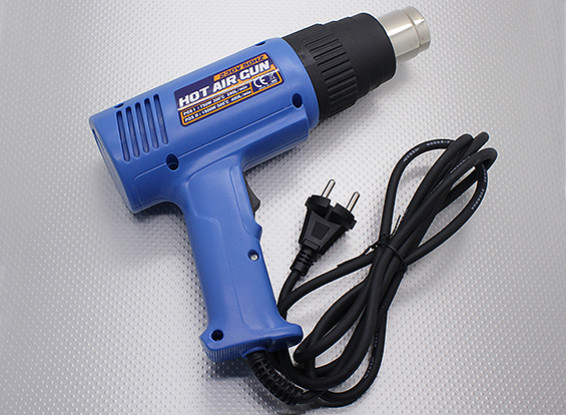 Dual Power Heat Gun 750W/1500W Output (230V/50HZ version) with EU Plug