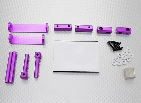 1/8 Car Magnetic Body Mounting Set (Purple)