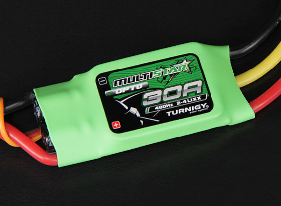 Turnigy Multistar 30 Amp Multi-rotor Brushless ESC 2-4S (OPTO)