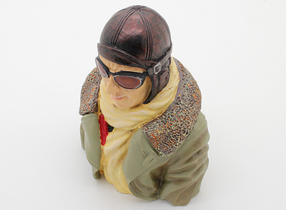Highly Detailed Model Pilot (H110 x W79 x D50mm)