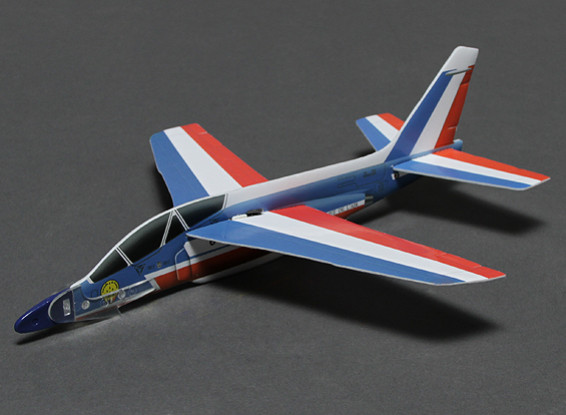 Alpha Jet w/Catapult Launcher 252mm Span