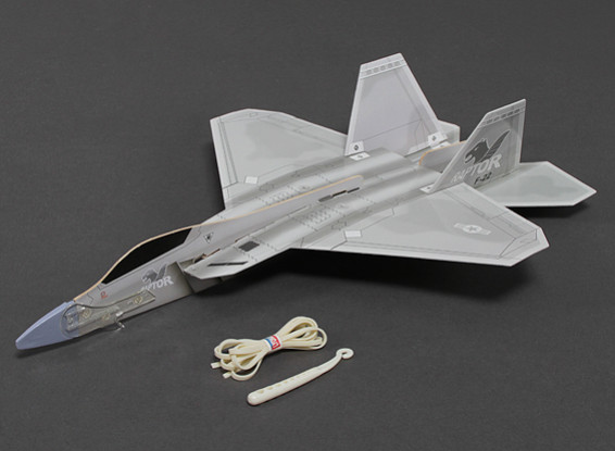 Freeflight F-22 Raptor w/Catapult Launcher 360mm Span