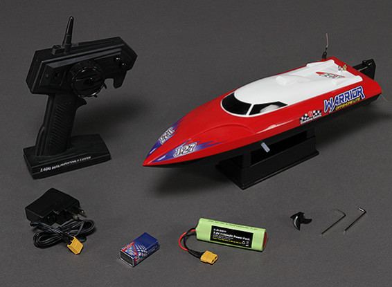 Warrior V-Hull R/C Boat V2 (420mm) RTR