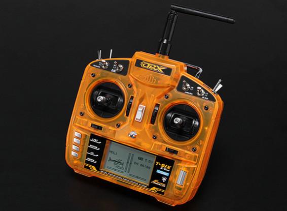 OrangeRx T-SIX 2 4GHz DSM2 6CH Programmable Transmitter w/10 Model