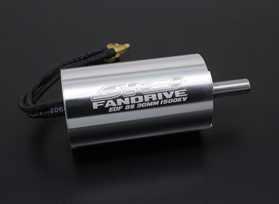 Turnigy SK3 90mm (6S-8S 3000w) Fandrive Brushless EDF Motor - 3968-1500KV