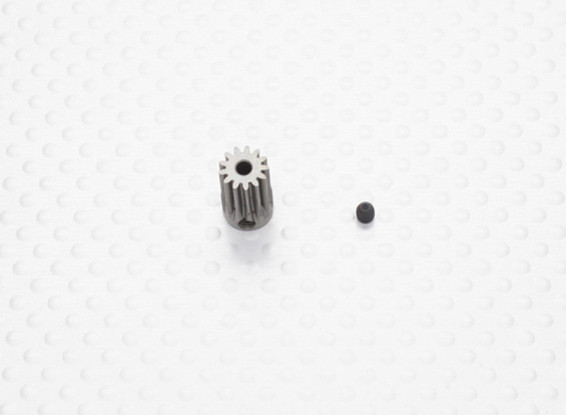 """""""Hard One"""" 0.5M Hardened Helicopter Pinion Gear 2.3mm Shaft - 13T"""