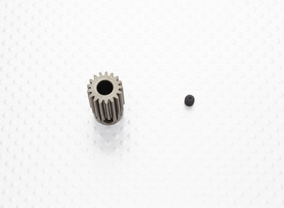 """""""Hard One"""" 0.7M Hardened Helicopter Pinion Gear 6mm Shaft - 17T"""
