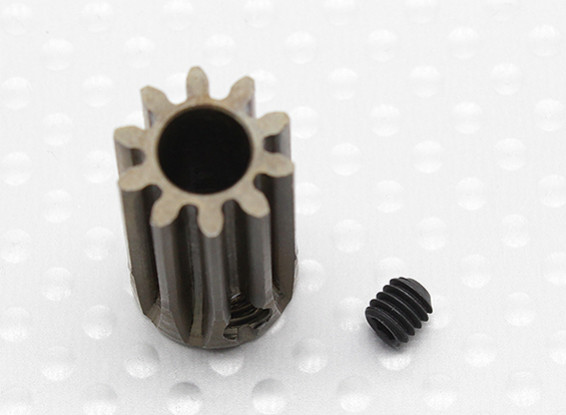 """""""Hard One"""" 1.0M Hardened Helicopter Pinion Gear 6mm Shaft - 10T"""