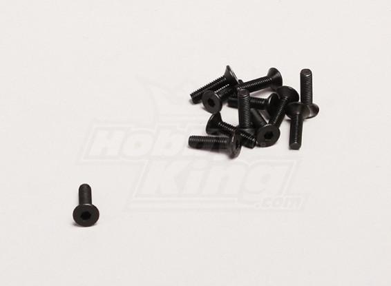 M3x12mm Hex Screw (12pcs/bag) - Turnigy Trailblazer XB and XT 1/5