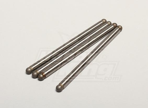 Nutech Lower Susp. Shaft (4pcs) - Turnigy Titan 1/5