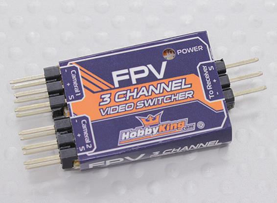 hobbyking 3 channel fpv video switcher rh hobbyking com