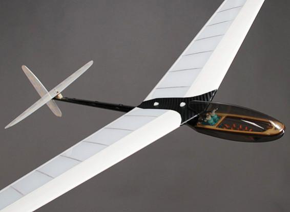 Mini DLG Composite Discus Launch Glider - Blue/White 950mm (PNF)