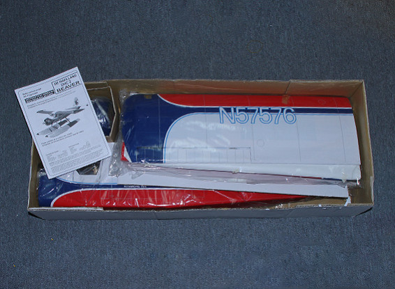 SCRATCH/DENT DHC-2 Beaver EP/GP .46 Size (Kenmore Air) 1620mm (ARF)