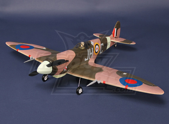 Mini Spitfire - Desert Camo EPO Plug and Play (AU Warehouse)