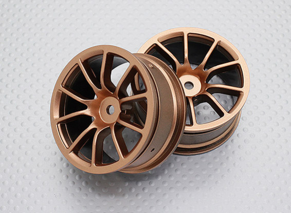 1:10 Scale High Quality Touring / Drift Wheels RC Car 12mm Hex   (2pc) CR-12CG