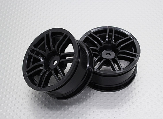 1:10 Scale High Quality Touring / Drift Wheels RC Car 12mm Hex   (2pc) CR-RS4NB