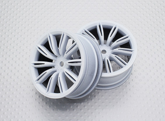 1:10 Scale High Quality Touring / Drift Wheels RC Car 12mm Hex (2pc) CR-VIRAGEW