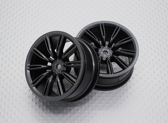1:10 Scale High Quality Touring / Drift Wheels RC Car 12mm Hex (2pc) CR-VIRAGEM