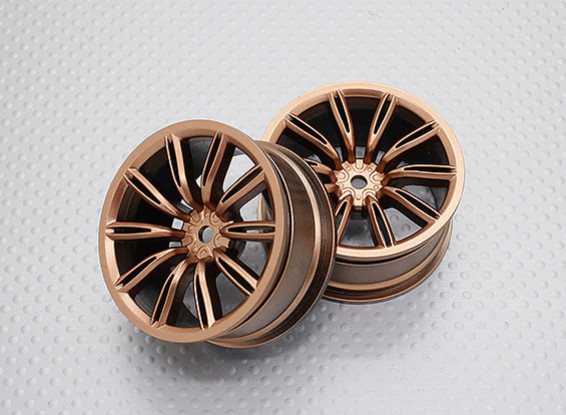 1:10 Scale High Quality Touring / Drift Wheels RC Car 12mm Hex (2pc) CR-VIRAGEG