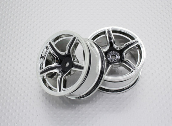 1:10 Scale High Quality Touring / Drift Wheels RC Car 12mm Hex (2pc) CR-C63B