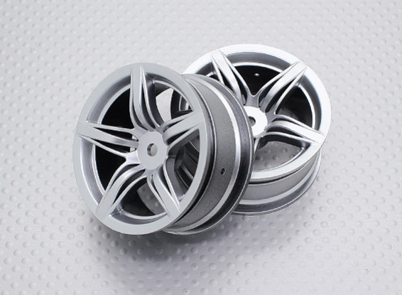 1:10 Scale High Quality Touring / Drift Wheels RC Car 12mm Hex (2pc) CR-F12S
