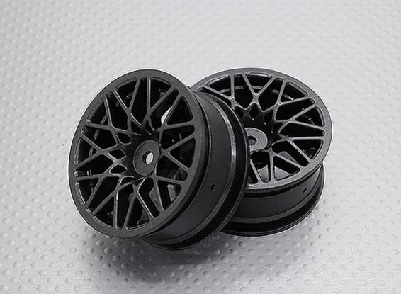 1:10 Scale High Quality Touring / Drift Wheels RC Car 12mm Hex (2pc) CR-LBM
