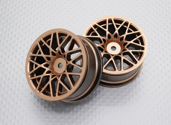 1:10 Scale High Quality Touring / Drift Wheels RC Car 12mm Hex (2pc) CR-LBG