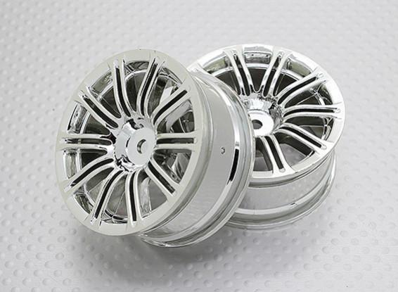 1:10 Scale High Quality Touring / Drift Wheels RC Car 12mm Hex (2pc) CR-M3C