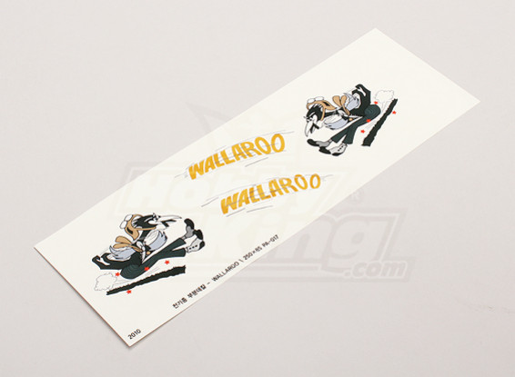 "Nose Art - ""Wallaroo"" (L/R sided)"