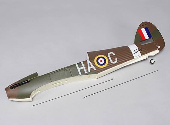 Hawker Hurricane Mk IIB 1000mm - Replacement Fuselage