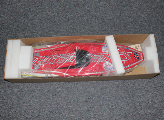 SCRATCH/DENT Boat 630mm (Hull Only) (Red)