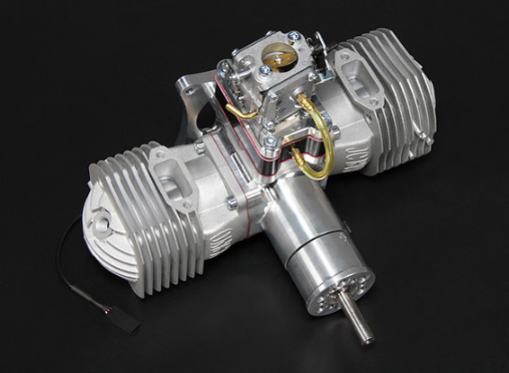 JC120 EVO Gas engine Version 2 w/CD-Ignition 120cc/12.5hp @ 8,000rpm