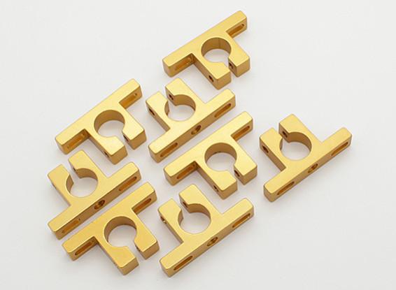 Turnigy Talon Alloy Motor Mount Block (Golden Yellow) (8pcs/bag)