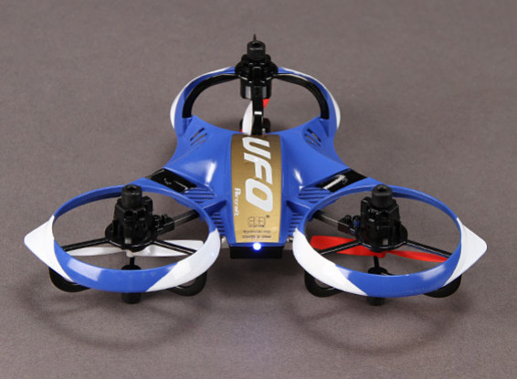 UFO Y-4 Micro Multicopter (Ready to Fly) w/2.4GHz Transmitter and Auto-Flip Feature (Mode 2)