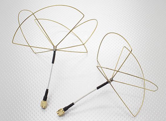 1.2 GHz Circular Polarized Antenna RP-SMA (Set)