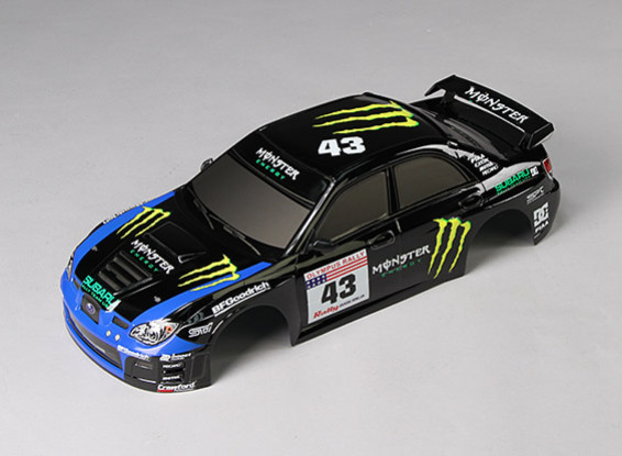 1:10 IMRREZA WRX 9  Finished Body Shell